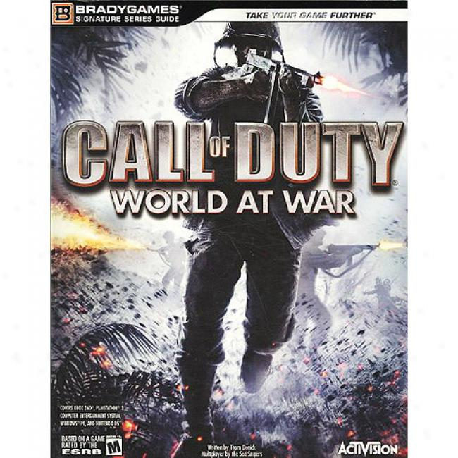 Call Of Duty: World At War [with Bonus Fold-out Poster]