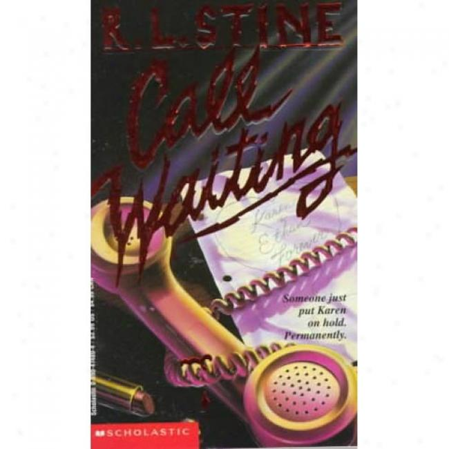 Invoke Waiting By R. L. Stine, Isbn 0590474804