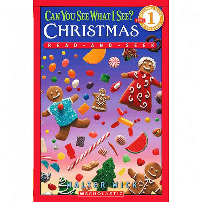 Can You See What I See?: Christmas Read-and-seek