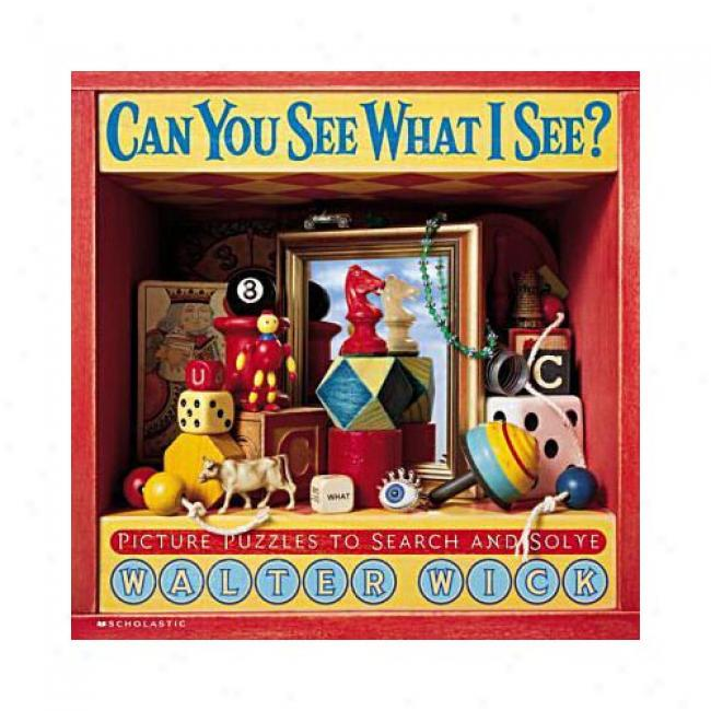 Can You See What I See?: Picture Puzzles To Search And Solve By Walter Wick, Isbn 0439163919