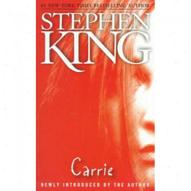 Carrie By Stephen King, Isbn 0671039725