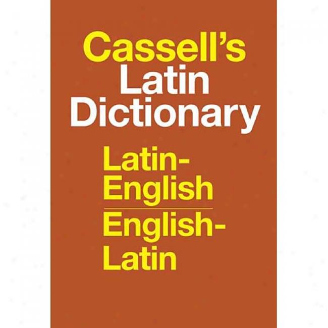 Casselk's Latin Dictionary By D. P. Simpson, Isbn 0025225804