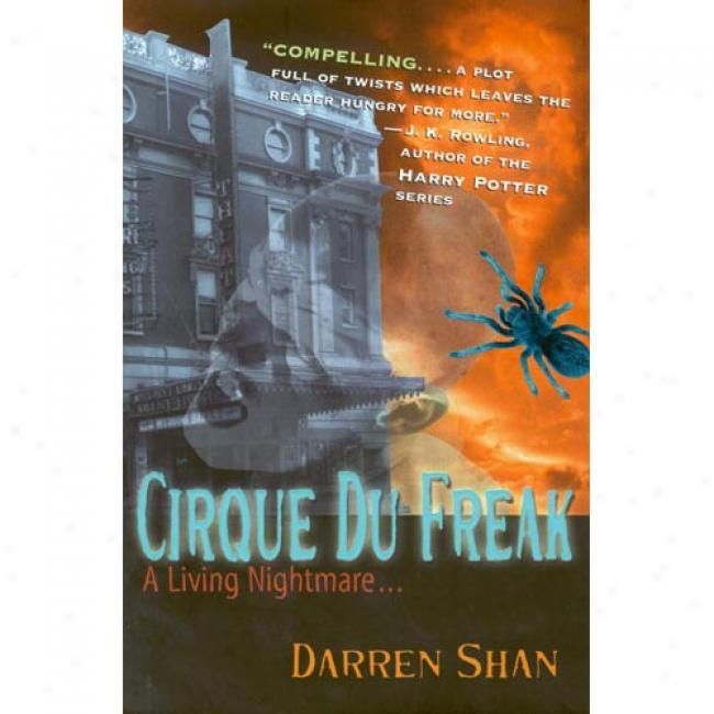 Cirque Du Freak: A Living Nightmare By Darren Shan, Isbn 0316603406