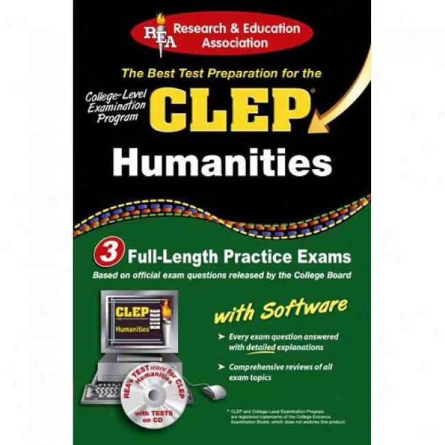 Clep Humanities: The Best Test Preparation For The Clep [with Cdrom]