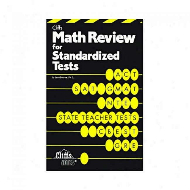 Cluff Math Review Standardized By Jerry Bobrow, Isbn 0822020335