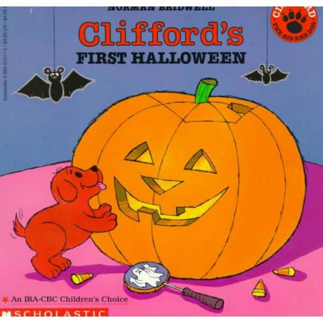 Clifford's First Halloween By Norman Bridwell, Isbn 0590503170