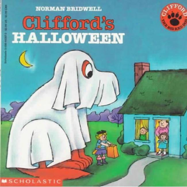 Clifford's Halloween By Norman Bridwell, Isbn 0590442872