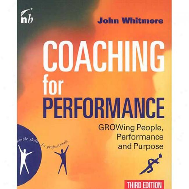 Coaching For Performance By John Whutmore, Isbn 1857883309