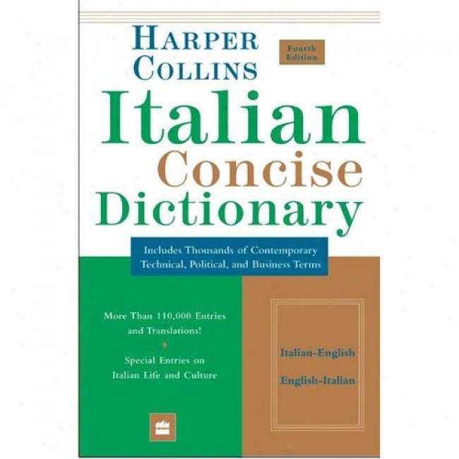 Collins Italian Concise Dictionary, 4e