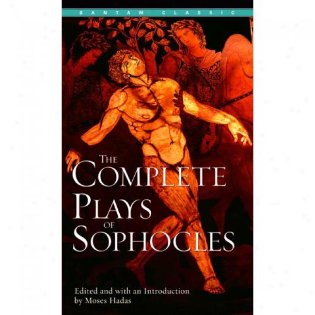 Complette Plays Of Sophocles By E. A. Sophocles, Isbn 0553213547