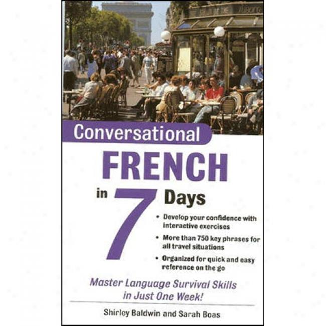 Conversational French In 7 Days Package (book + 2cds)