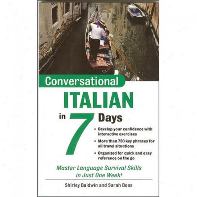 Conversational Italian In 7 Days Package (book + 2cds)