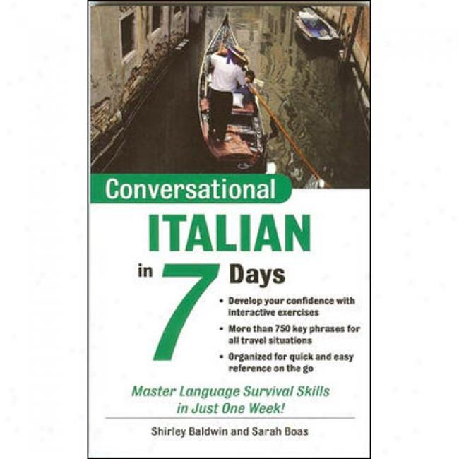 Conversational Italian In 7 Days