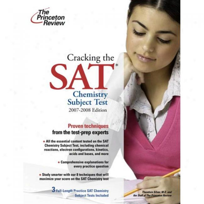 Cracking The Sat Chwmistry Subject Test