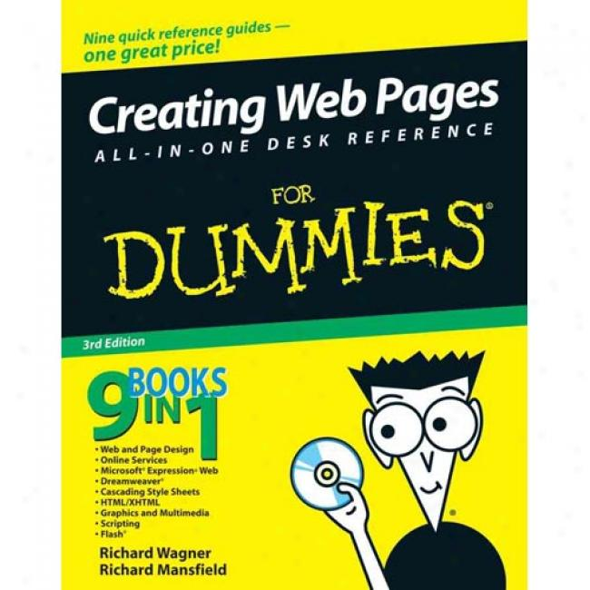 Creating Web Pages All-in-one Desk Reference For Dummies [with Cdrom]