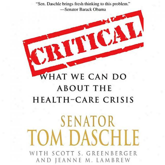 Critical: What We Can Transact About The Health-care Crisis