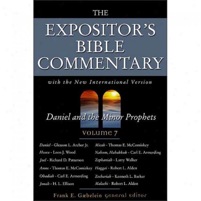 Daniel And Minor Prophets By Frank E. Gaebelein, Isbn 0310364906