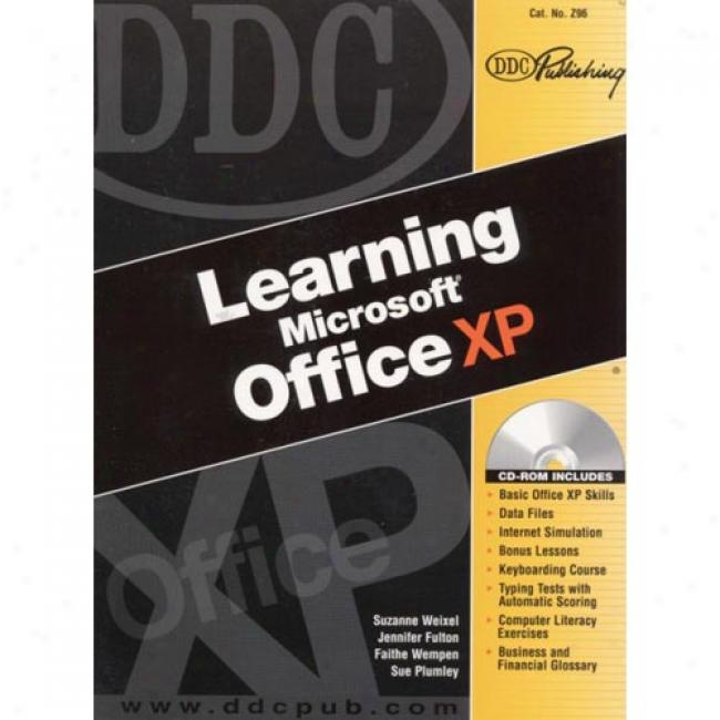 Ddc Erudition Microsoft Office Xp [with Cdrom]