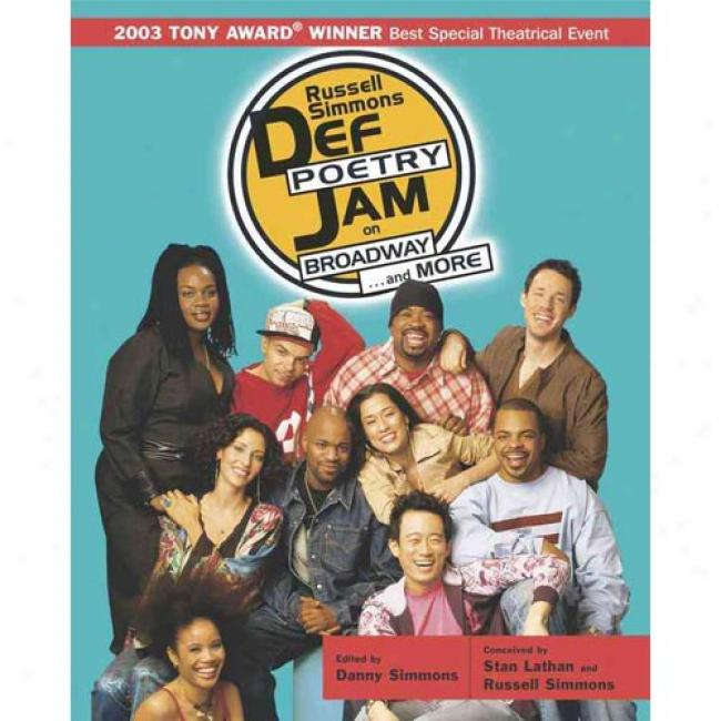Def Poetry Jam On Papdr By Danny Simmons, Isbn 0743476212
