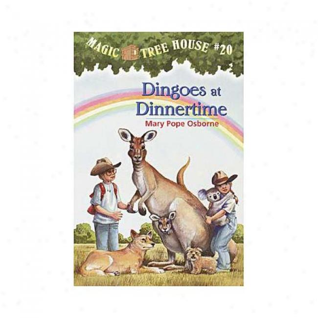 Dingoes At Dinn3rtime By Mary Pope Osborne, Isbn 0679890661