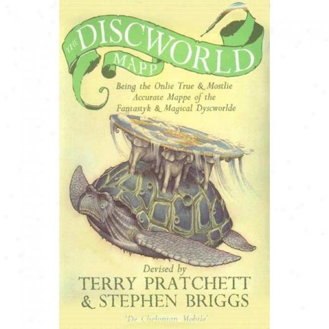 Discworld Map By Terry Pratchett, Isbn 0552143243