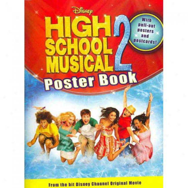 Disney High Instruct Melodious 2 Poster Book