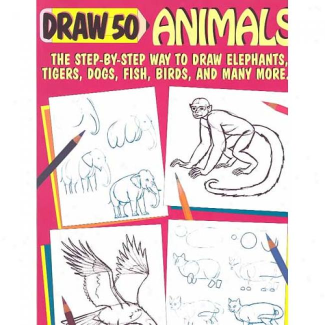 Draw 50 Animals Near to Lee J. Ames, Isbn 0385195192