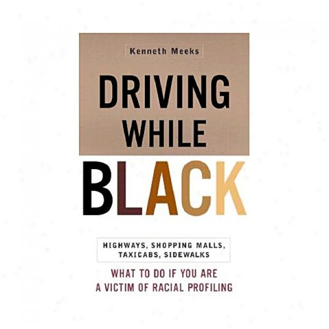 Driving While Black: Highways, Shopping, Malls, Taxicabs, Sidewalks: How To Fight Back If You Are A Victim Of Racial Profiling By Kenneth Meeks, Isbn 0767905490