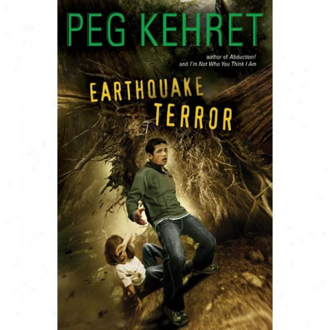 Earthquake Terror By Peg Kehret, Isbn 0140383433