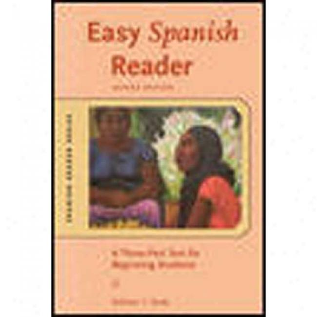 Easy Spanish Reader By William T. Tardy, Isbn 0071428062