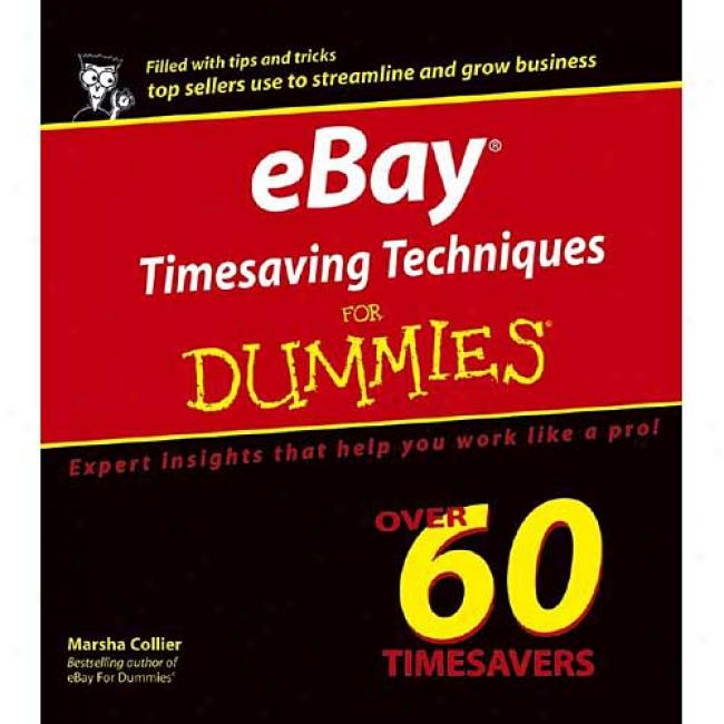 Ebay Timaving Techniques For Dummies
