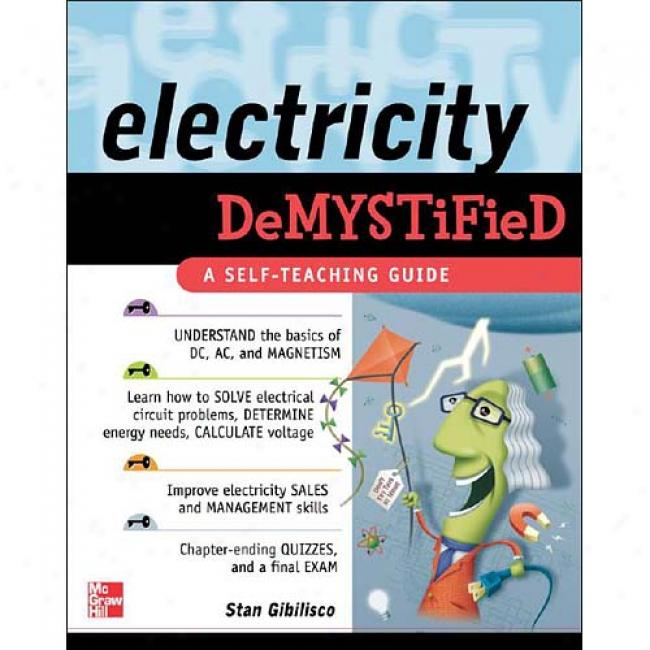 Electricity Demystified: A Sel-fteaching Lead