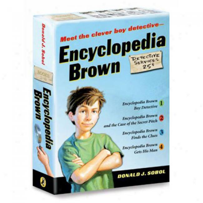 Encyclopedia Brown 4 Volume Boxed Set