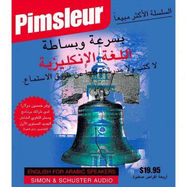 Esl Arabic I By Pimsleur, Isbn 0743504976