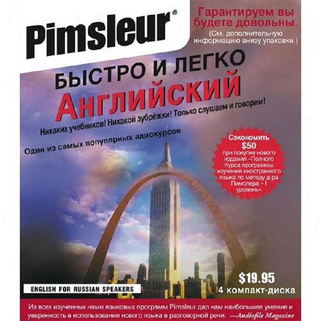 Esl Russian By Simon & Schuster Audio, Isbn 0743517733