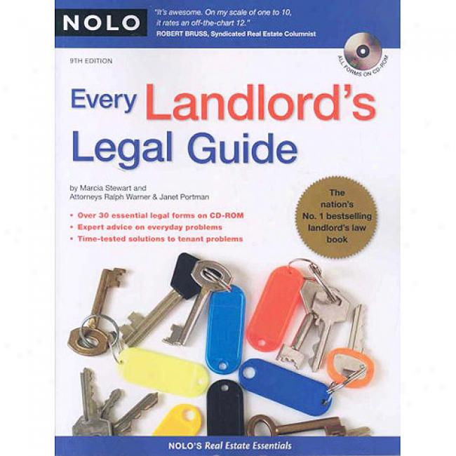Every Landlord's Legal Guide [with Cdrom]