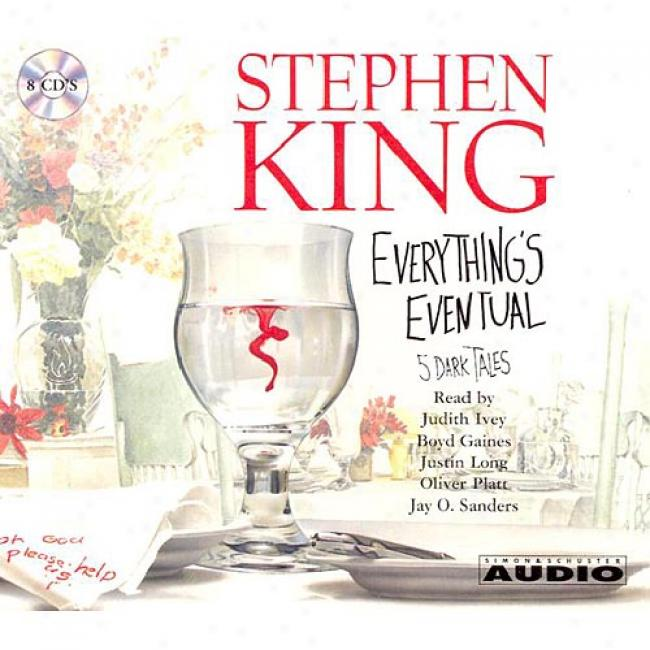 Everything's Eventual And Other Stories By Stephen King, Isbn 0743525892