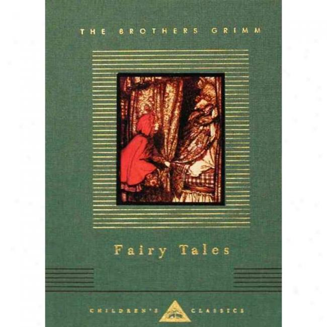 Fairy Tales By Jacob Ludwig Carl Grimm, Isbn 0679417966