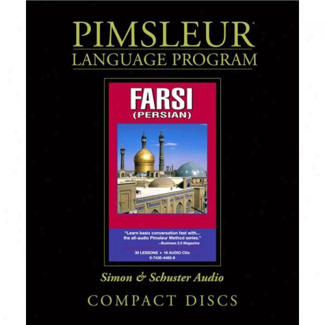 Farsi (persian): Learn To Speak And Understand Farsi (persian) With Pimsleur Langage Programs