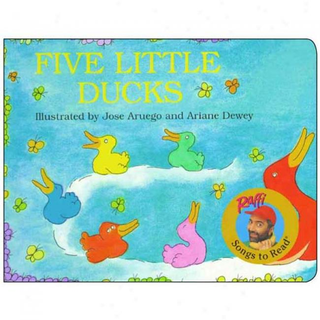Five Little Ducks By Raffi, Isbn 0517800578