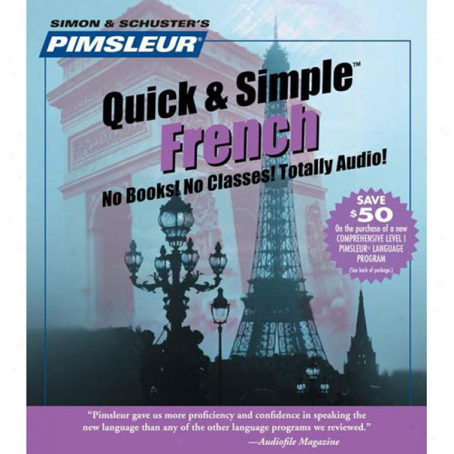 French I By Pimsleur Language Progeaams, Isbn 074350951x