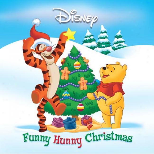 Comical Hunny Christmas By Disney Rh, Isbn 0736413286