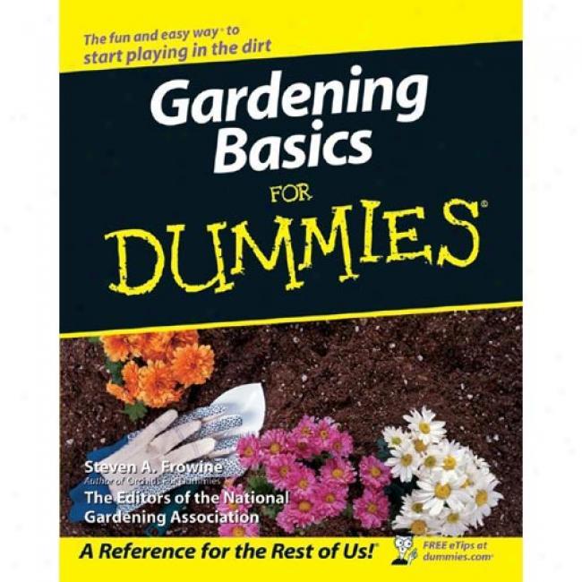 Gardeinng Basics For Dummies