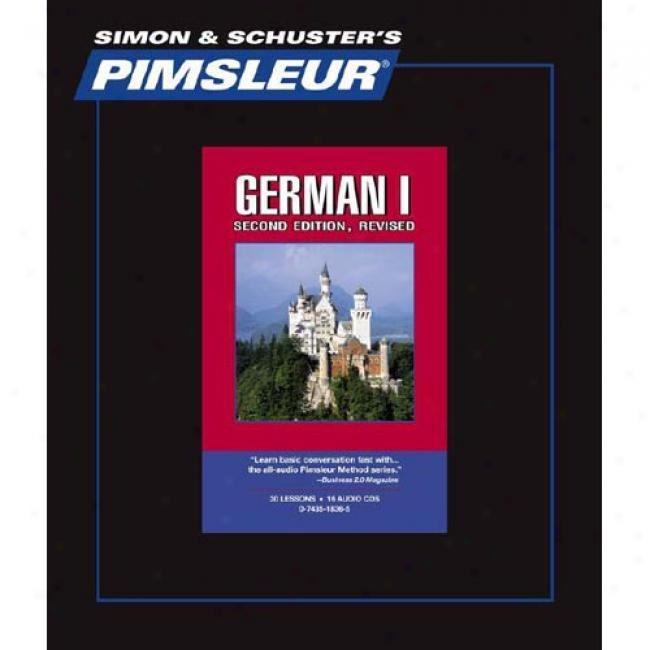 GermanI  By Pimsleur Language Programs, Isbn 0743518365