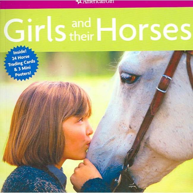 Girls Ahd Tgeir Horses [with 24 Horse Trading Cards And 3 Mini Posters]