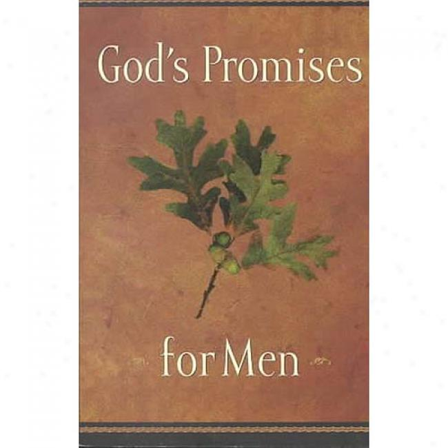 God's Promises For Men By Jack Countryman, Isbn 0849956196