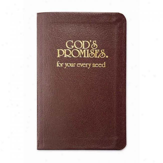 God's Promises For Your Every Need Along Word Publishing, Isbn 0849951321