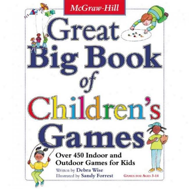 Great Big Book Of Children's Games By Derba Wise, Isbn 0071422463