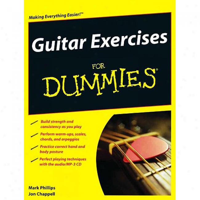 Guitar Exercises Flr Dummies [with Cd]