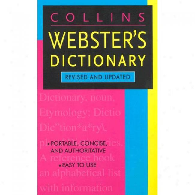 Harpercollins Webster's Dictipnary By Harpercollins, Isbn 0060557826